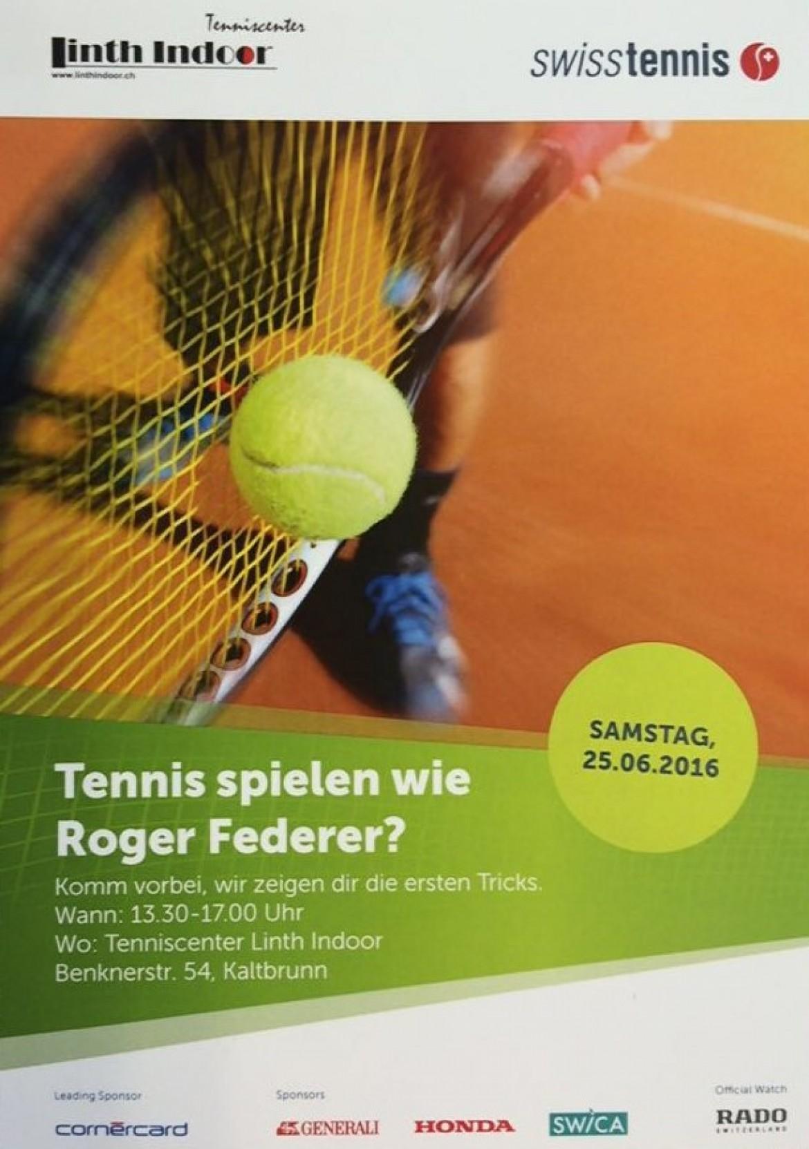 Tennis Schnuppertag