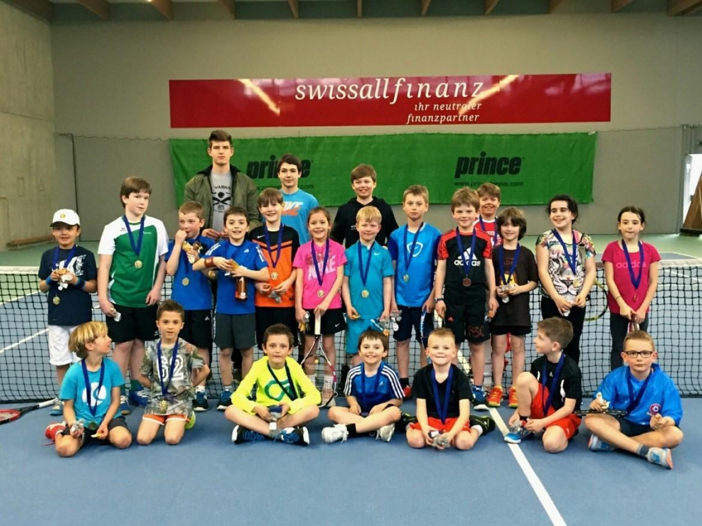 Erfolgreiche Kids Tennis Turnierserie